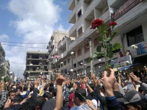 Roses in Daraya