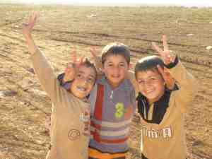 Children of Olive Tree camp in Atmeh