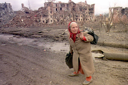 Chechen Refugee 1994