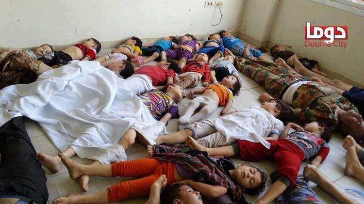 Damascus Chemical Massacre