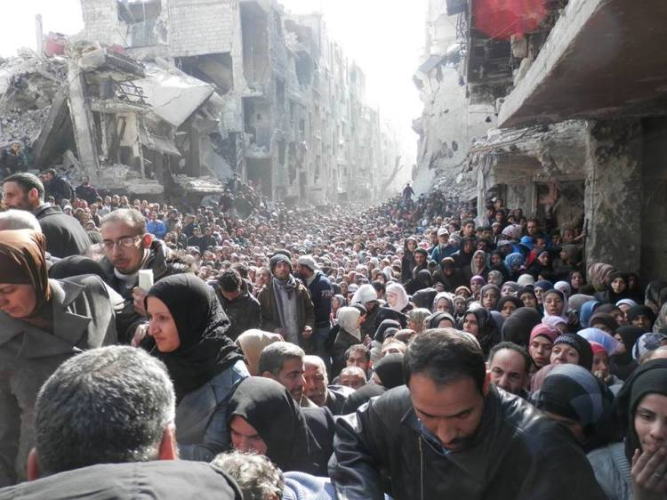 Masses of Yarmouk