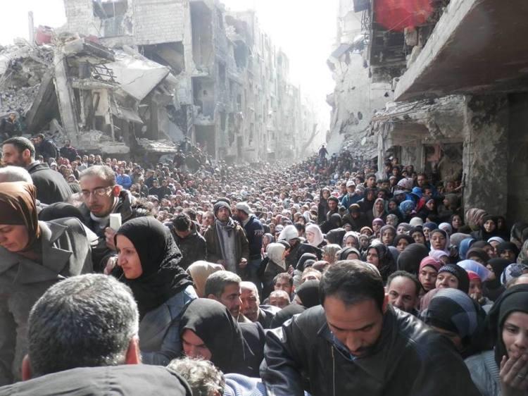 Masses of Yarmouk