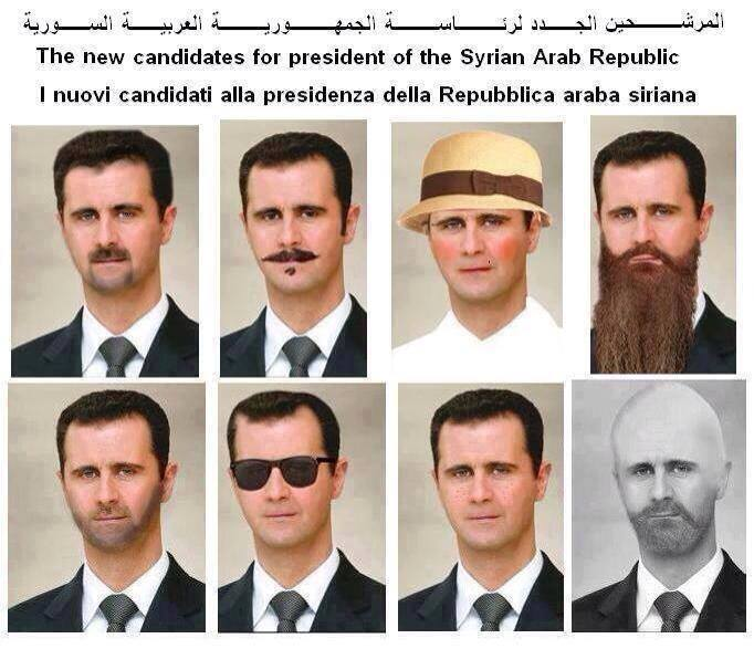 Assad's sham elections
