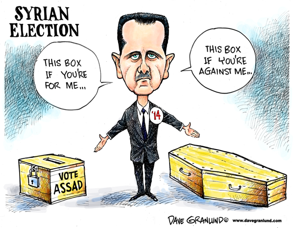 Assad's Election Choices