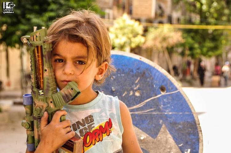 Child in Yarmouk