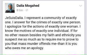 Touché. #JeSuisDalia